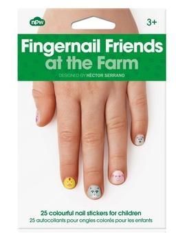 FINGERNAIL FRIENDS at the FARM