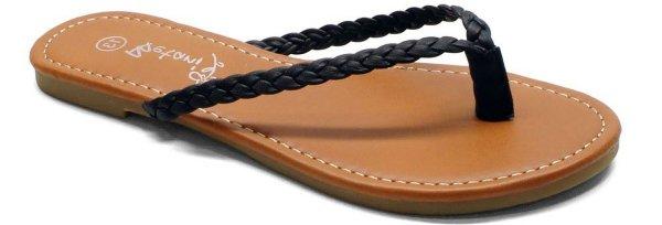 Braidy Flat Thong
