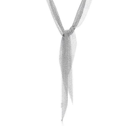 Elsa Peretti Mesh Scarf Necklace