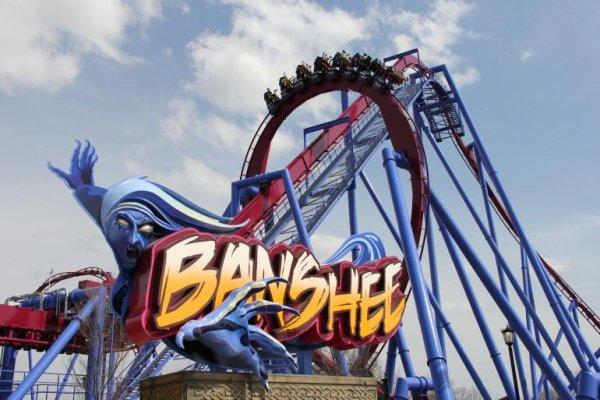 Banshee, Kings Island, Mason, Ohio, USA