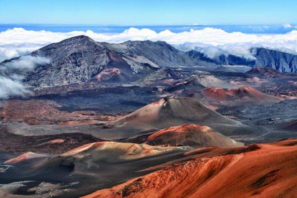 Haleakala Crater, mountainous landforms, geographical feature, landform, wilderness,