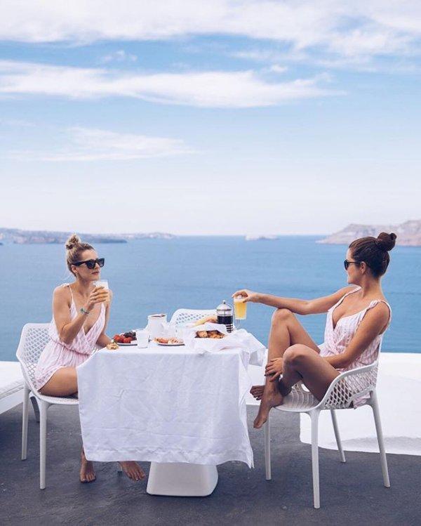 vacation, human positions, sitting, sea,