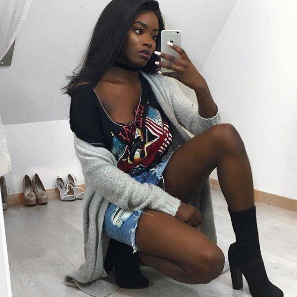 clothing, black hair, human positions, lady, thigh,