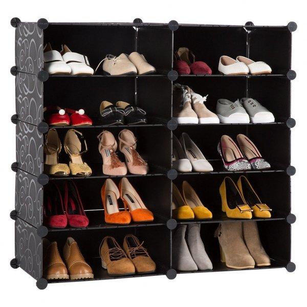 Shelf, Shelving, Furniture, Footwear, Room,