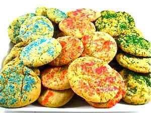 Skinny Holiday Sugar Cookies