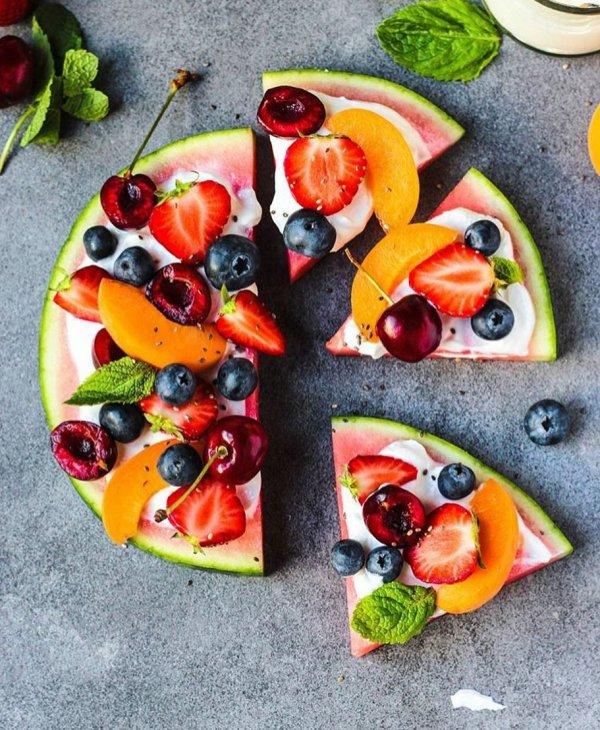 fruit, melon, food, watermelon, vegetarian food,