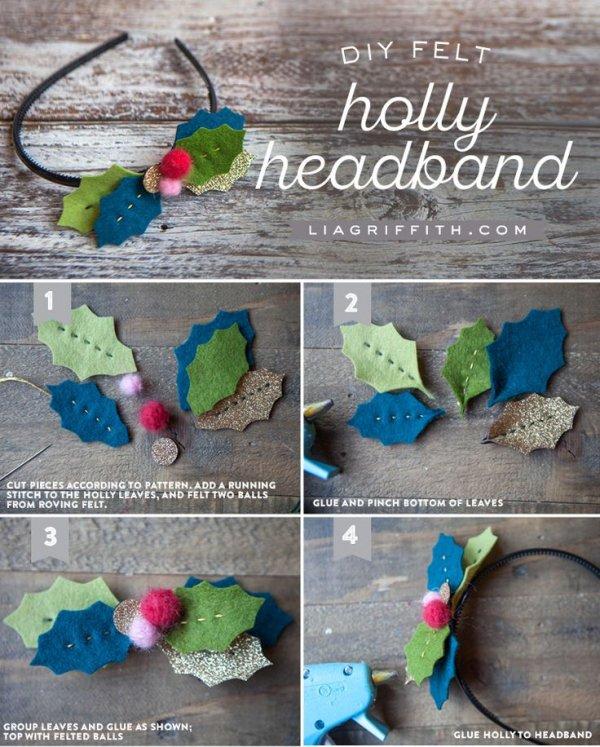 Holly Headband