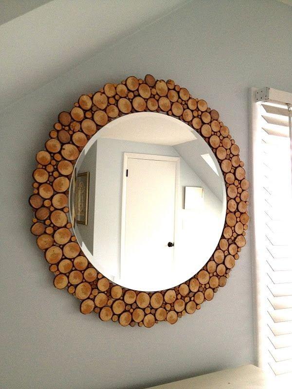 Log Slice Mirror