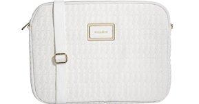 Pull&Bear Laptop Case in White
