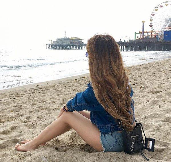 Santa Monica Pier, clothing, sea, beach, vacation,
