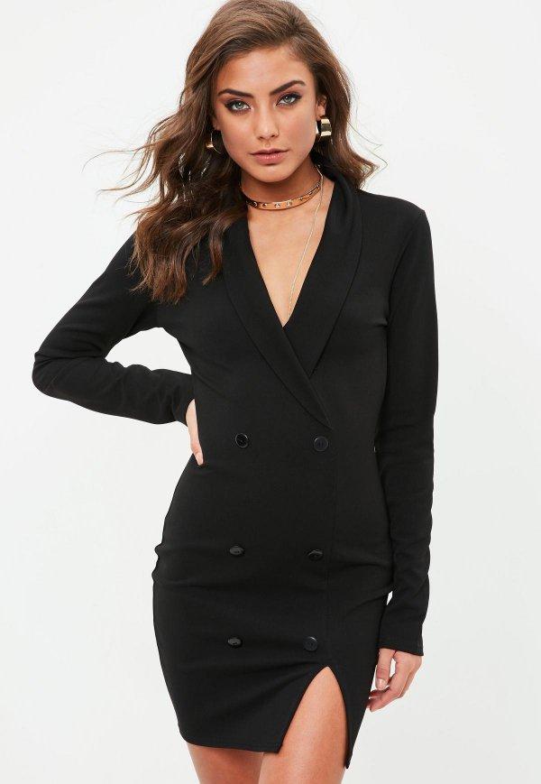 clothing, formal wear, fashion model, blazer, dress,