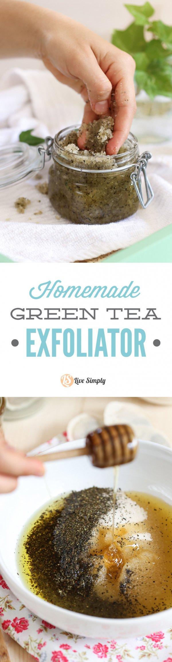 A Green Tea Scrub with a Creative Twist? Count Me in!