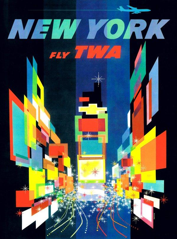 New York TWA 1000 Piece Puzzle