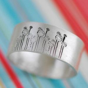 Fields of Dandelions Ring