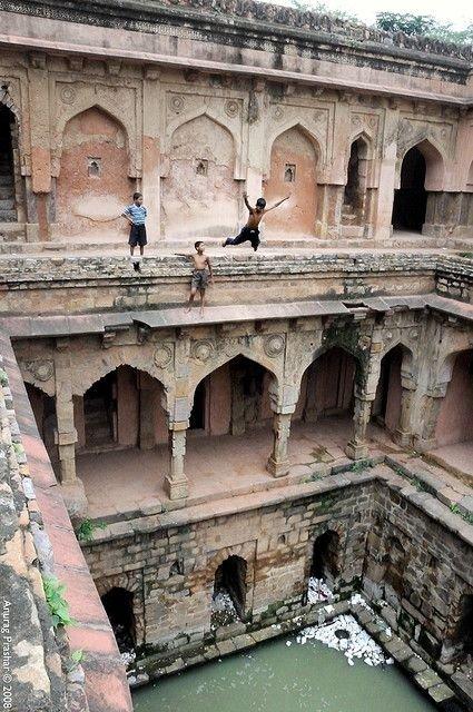 Mehrauli Archeological Park, New Delhi
