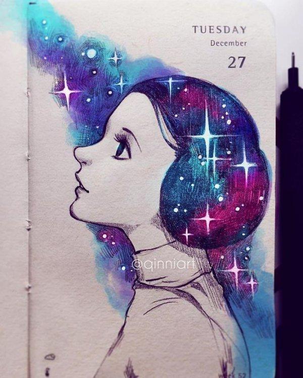 color, blue, image, art, illustration,