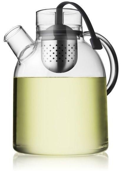 1-1/2-Liter Kettle Teapot, Glass with Tea Egg