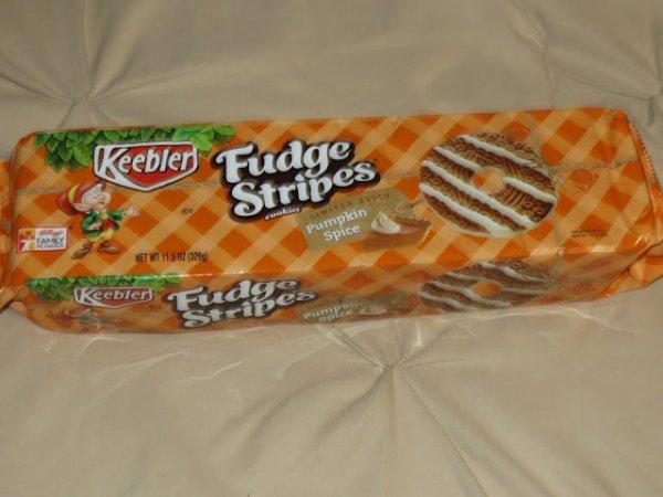 Keebler Fudge Stripes, Pumpkin Spice Edition