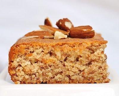 3-ingredient Flourless Honey Almond Cake