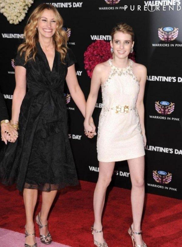 Emma Roberts & Julia Roberts