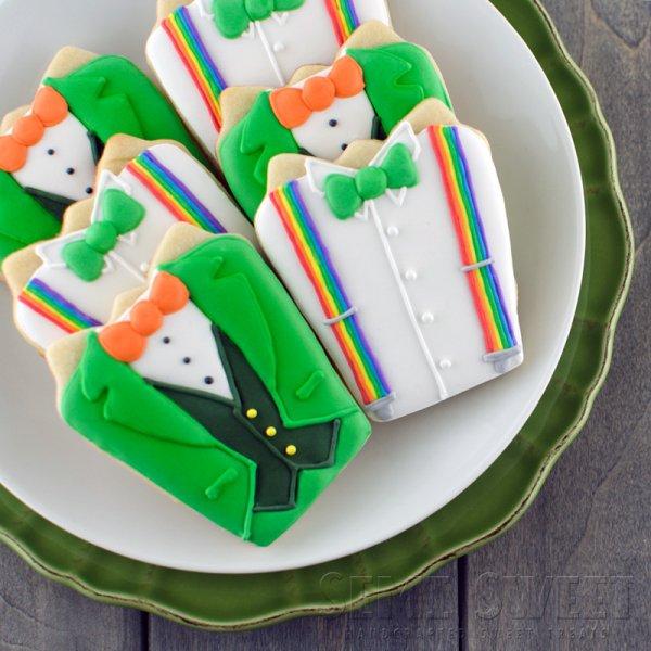 Irish Shirt Cookies