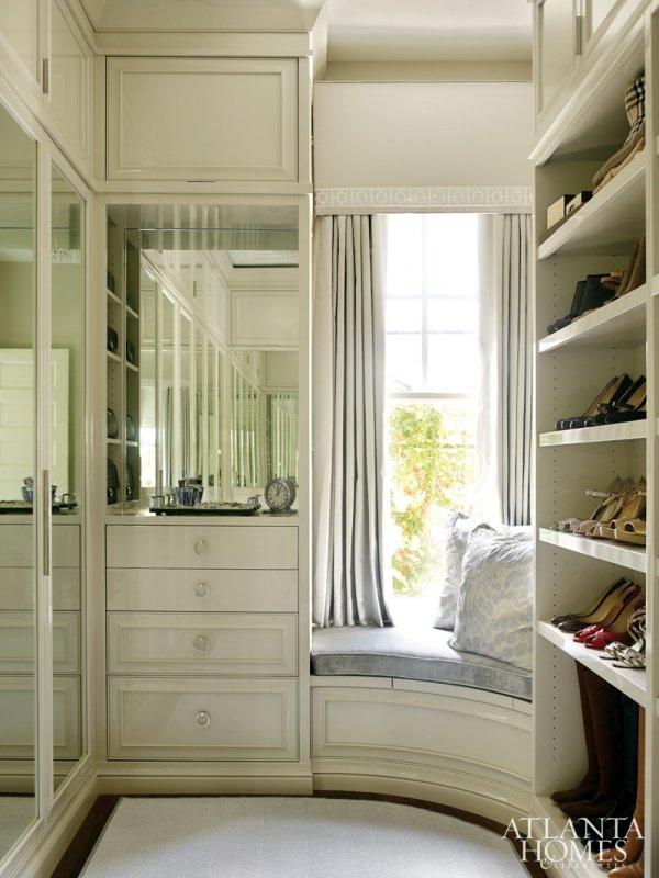 Compacted Walk-in Closet