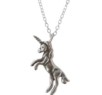Anomaly Jewelry Silver Unicorn Necklace