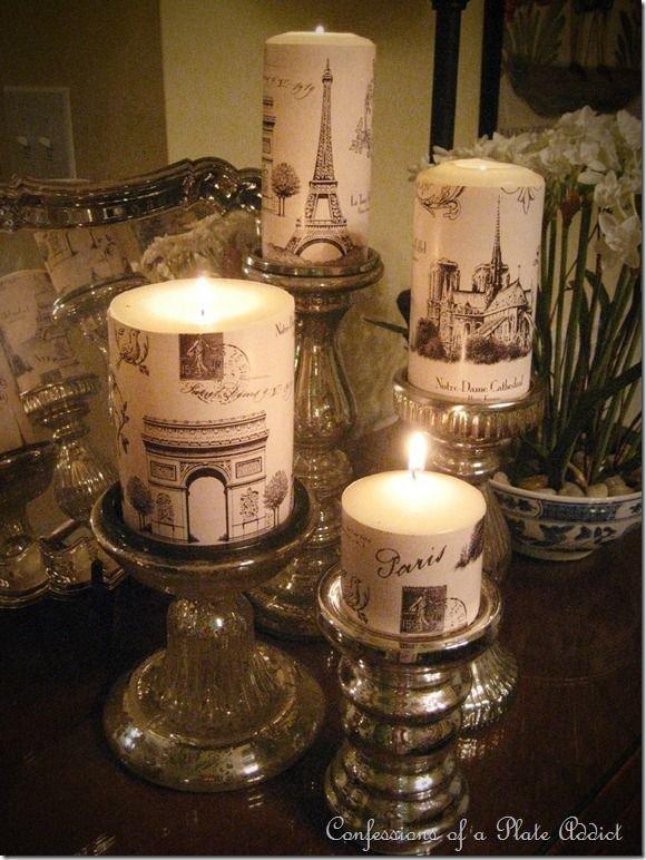 Parisian Inspired Candles
