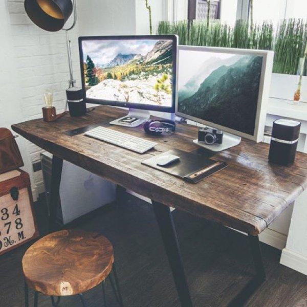 furniture, desk, table, room, office,
