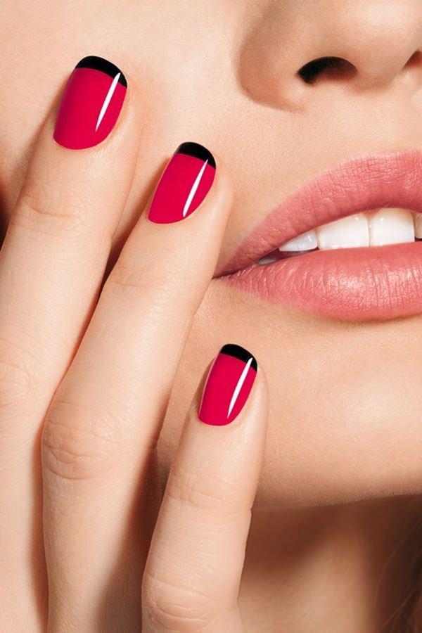 nail, pink, finger, red, nail care,