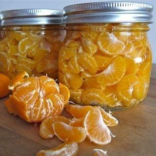 Canned Mandarin Oranges