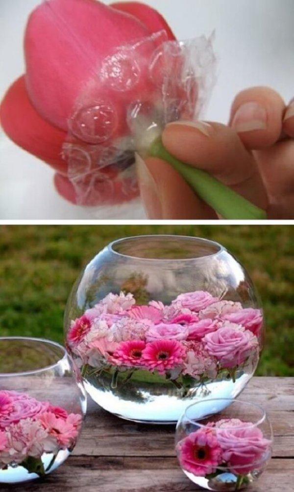 pink, flower, petal, food, centrepiece,