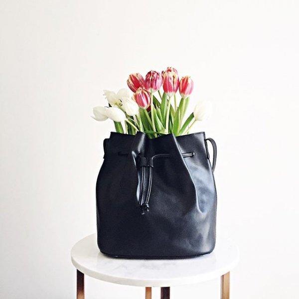 bag, footwear, flower, handbag, shoe,