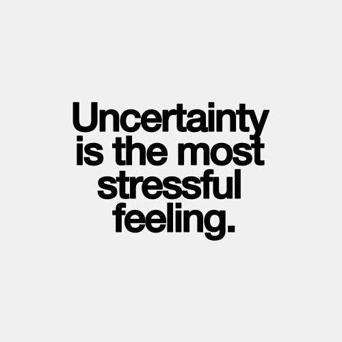 Ignore Uncertainty