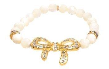 Beaded Bow Bracelet