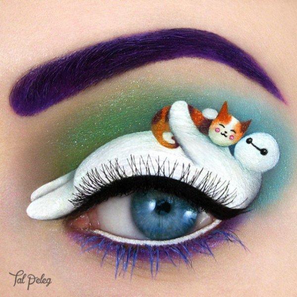 color,eyebrow,face,blue,eyelash,