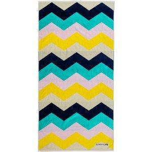 Sunny Colored Chevron Stripes