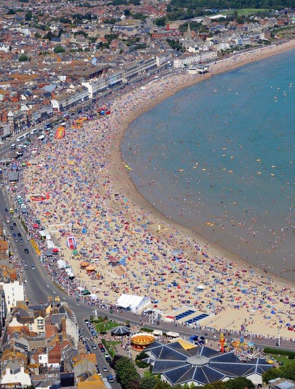Weymouth Beach, Weymouth, England