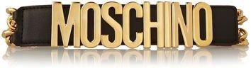 Moschino Leather Chain Belt