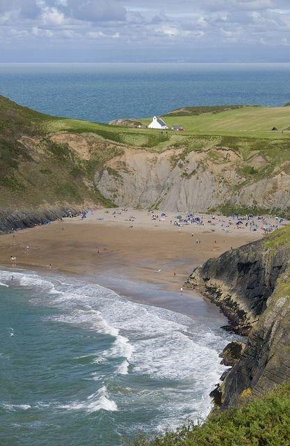 Mwnt Beach, Cardigan, Wales