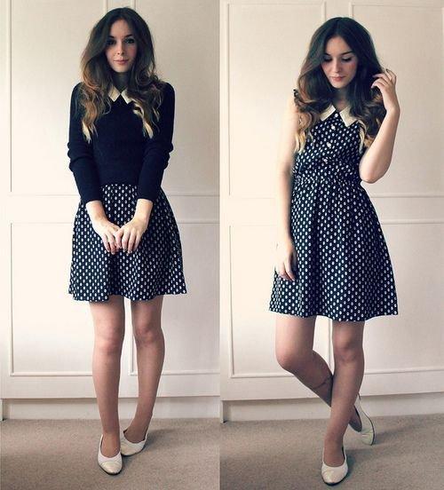 clothing,dress,polka dot,pattern,sleeve,
