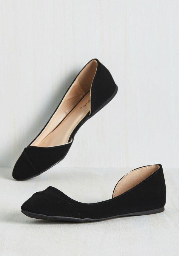 Tip Tap Toe Flat