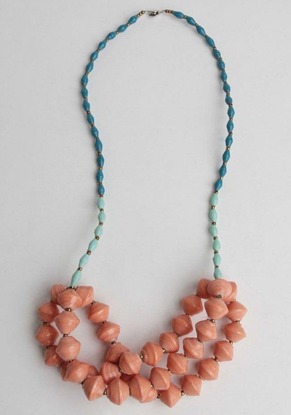 Havana Trim Necklace