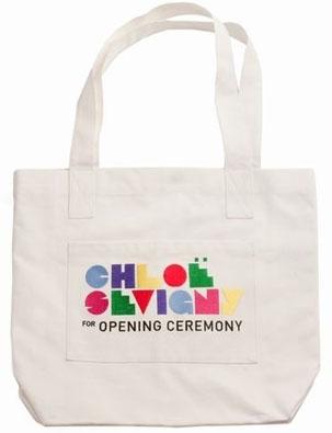 Chloe Sevigny for Opening Ceremony Large Logo Tote
