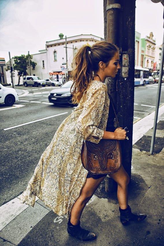 Ankle Kimono