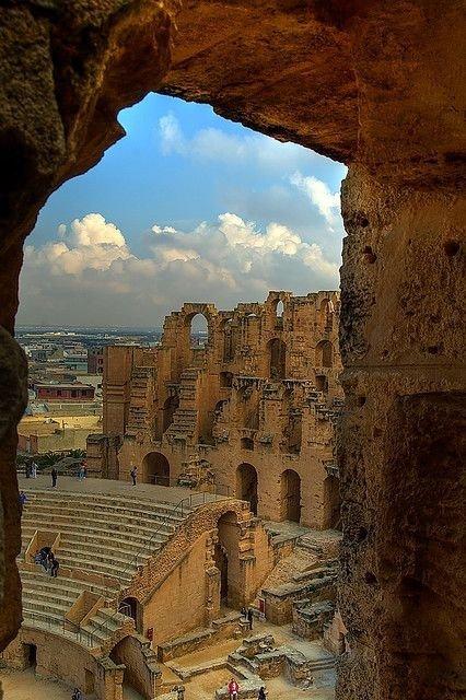The African Colosseum, El Djem, Tunisia