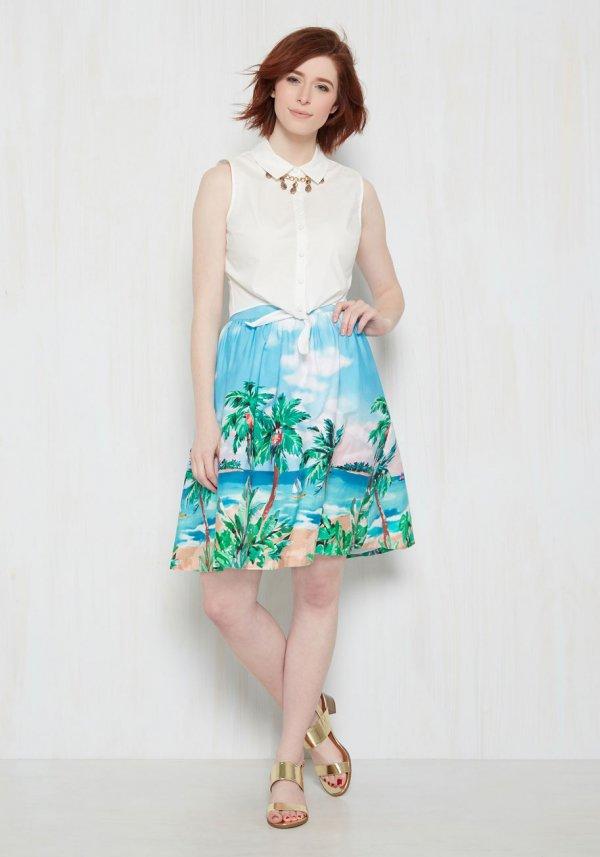clothing, turquoise, aqua, spring, dress,