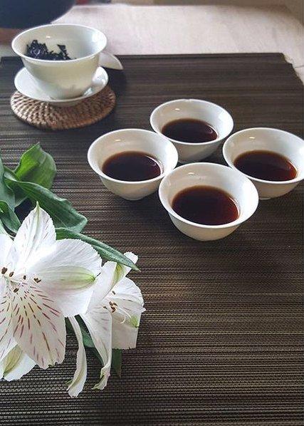 flower, petal, meal, coffee cup, dish,