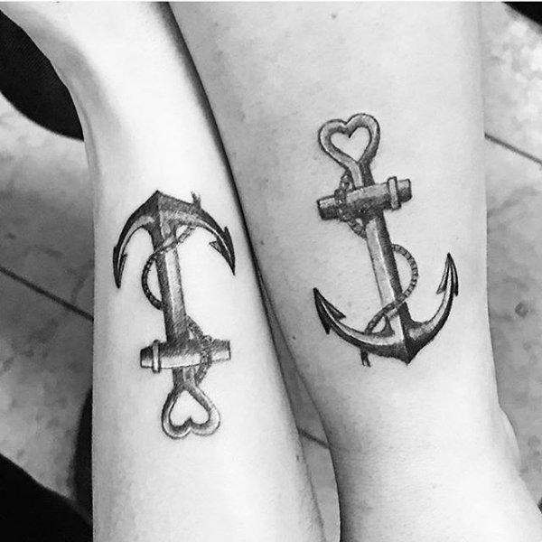 anchor, black and white, temporary tattoo, arm, tattoo,