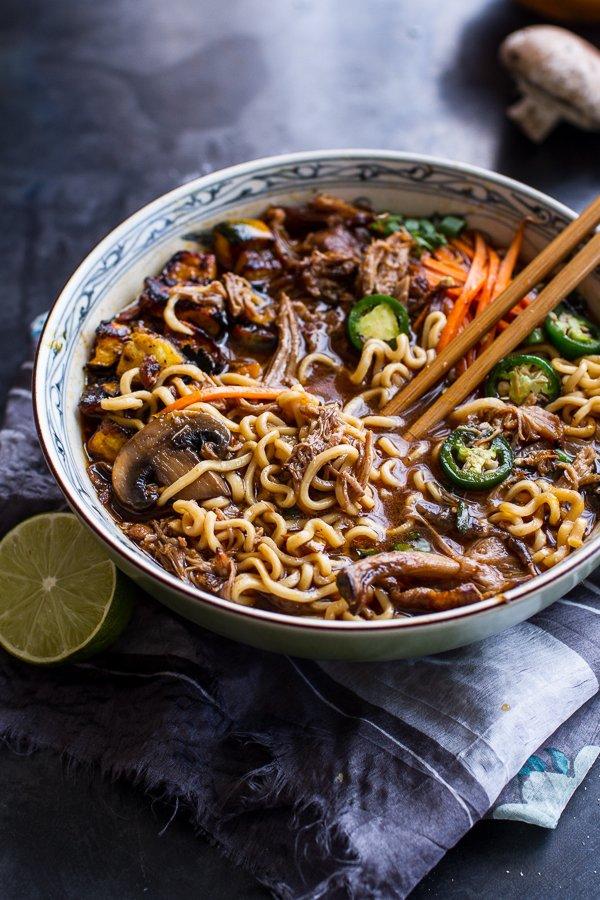 Pork and Noodle Bowl